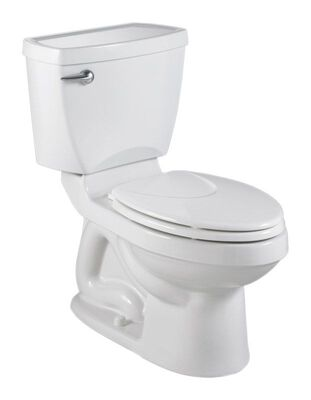 American Standard Champion Elongated Complete Toilet 1.6 gal. ADA Compliant White