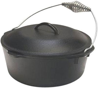 Lodge Logic Cast Iron Dutch Oven 7 Black 12 in. L 7