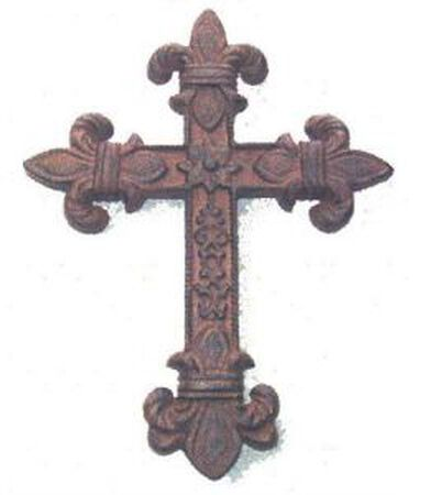Iron Cross Fleur de lis
