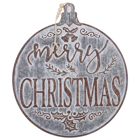 "18.9"" Merry Christmas Ornament"