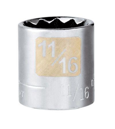 Craftsman 11/16 Alloy Steel 3/8 in. Drive in. drive Socket Standard