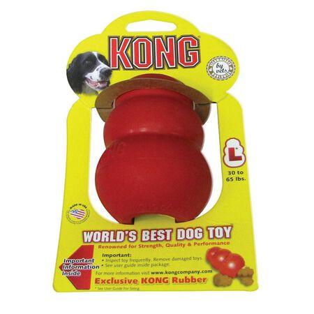 Kong Original Dog Toy Rubber