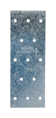 Simpson Strong-Tie 5 in. H Galvanized Tie Plate Steel