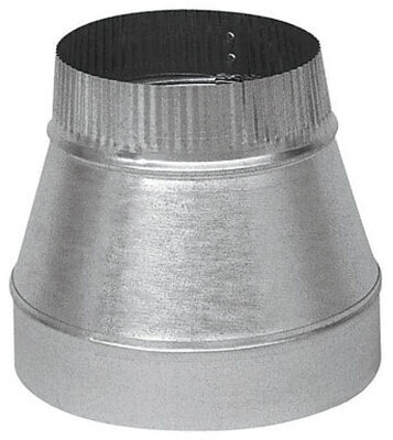 Imperial 4 in. Dia. x 3 in. Dia. Galvanized Steel Furnace Pipe Reducer