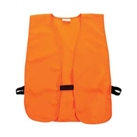 Blaze Orange Safety Vest - Adult XXL