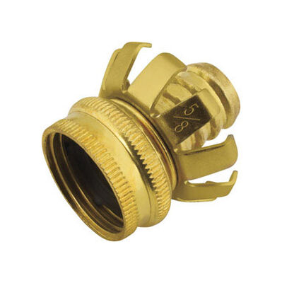 Ace 5/8 in. Metal Clinch Hose Mender Clamp Female Threaded