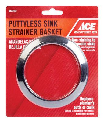 Ace 3-3/8 in. Puttyless Sink Gasket 3-3/8
