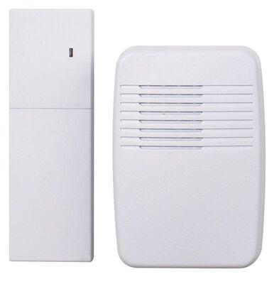 Heath Zenith White Wireless Door Chime Extender