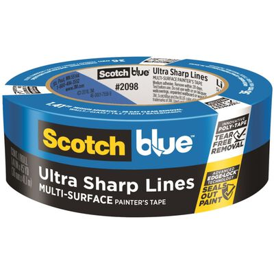 Scotch Platinum Painter's Tape Blue