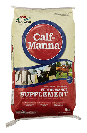 Calf Manna 50 lb. Performance Supplement For All Animals