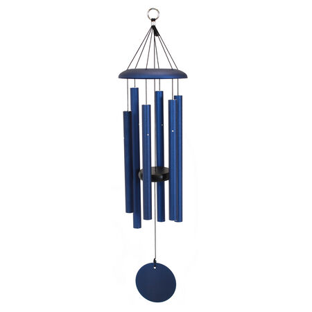 "Corinthian Bells, 29"" Midnight Blue Windchime"