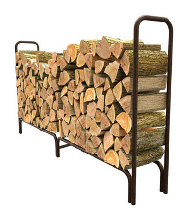 Panacea Powder Coated Steel Log Rack Outdoor
