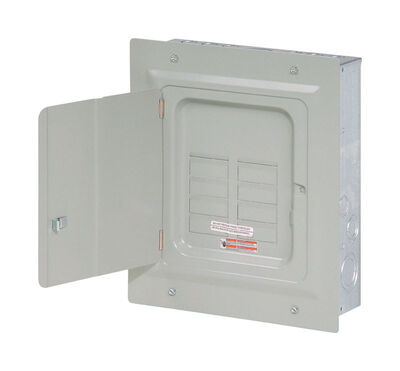 Eaton BR 125 amps 6 space 12 circuits 120/240 volts Flush Tandem Quadplex Main Lug Load Center