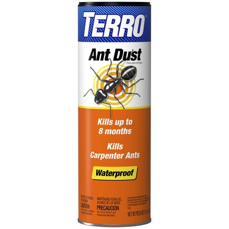 Terro Waterproof Ant Dust Insect Killer For Fire Ants and Carpenter Ants 1 lb.