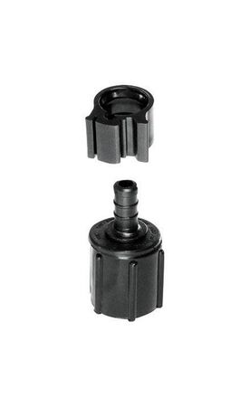 Flair-It PEXLock 3/8 in. PEX x 1/2 in. Dia. FPT Swivel Coupling with Clamp