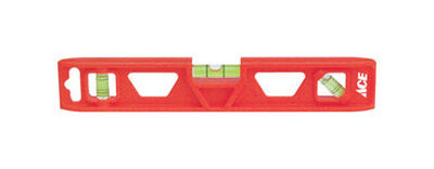 Ace Plastic Torpedo Level 9 in. L