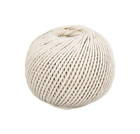 Wellington 16 in. Dia. x 350 ft. L Twisted Cotton Twine Natural