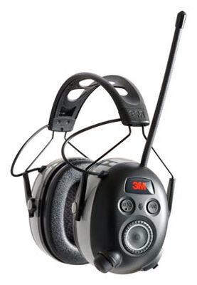 3M WorkTunes Reusable Earmuffs 24 dB Black 1 pair