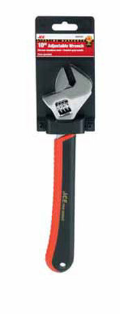 Ace 10 in. L Chrome Vanadium Steel Adjustable Wrench