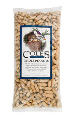 Cole's Assorted Species Wild Bird Food Whole Peanuts 2-1/2 lb.