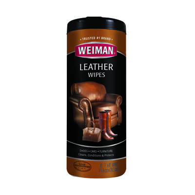 Weiman 30 count Leather Wipes