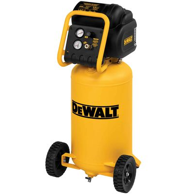 Dewalt 1.6 HP Continuous, 225 PSI, 15 Gallon Workshop Compressor
