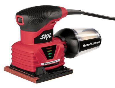 Skil 4.5 x 4 2 amps 120 volts Corded Palm Sander