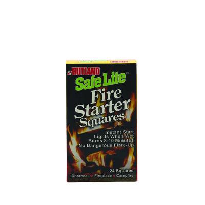 Rutland Safe Lite Wood Fiber Fire Starter 24 pk