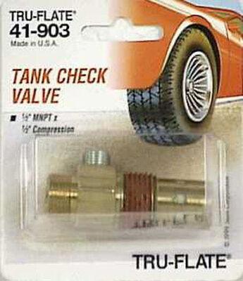 Tru-Flate Brass Compressor Tank Check Valve 1/2 in.