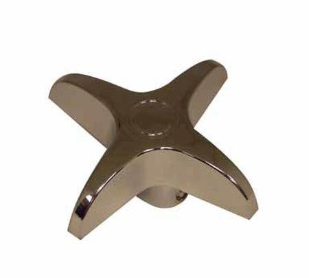 Ace Cross Arm Chrome Diverter Universal Faucet Handle