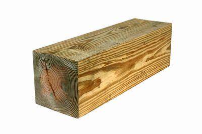 Pine Treated 8x8x10 #1 S4S CCA