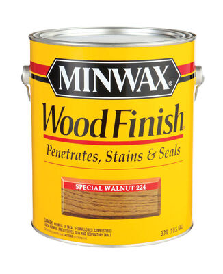 Minwax Wood Finish Transparent Oil-Based Wood Stain Special Walnut 1 gal.