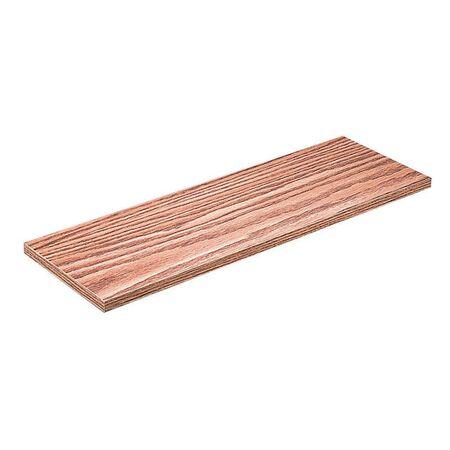 Knape & Vogt 12 in. H x 48 in. L x 12 in. W Oak Particleboard/Melatex Laminate Shelf Board