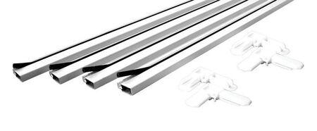 Prime-Line 36 X 36 Frame Screen Frame Kit 3/4 in. W x 3/4 in. L White Aluminum