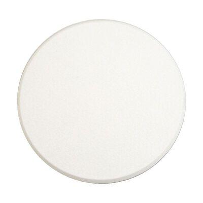 Prime-Line Vinyl Door Knob & Wall Shield 7-7/8 in. H x 1/4 in. L x 5 in. W White
