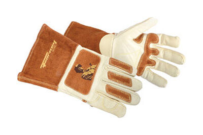 Forney Cowhide Unlined Welding Glove 12.625 in. L