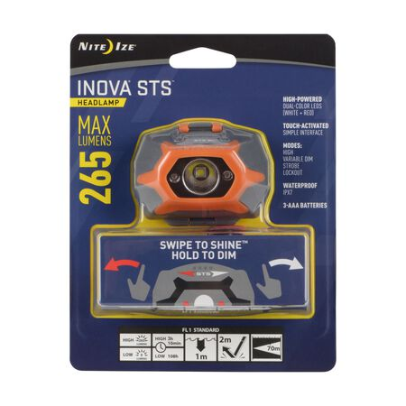 NS STS HEADLAMP ORANGE