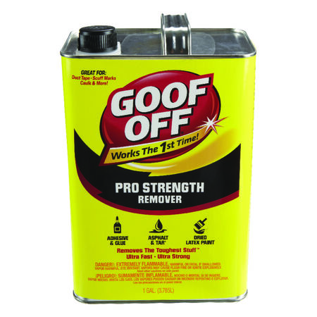 Goof Off Pro Strength Remover 1 gal. Liquid
