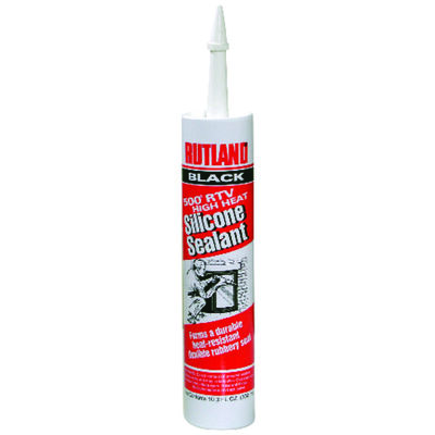 Rutland Black High Heat Silicone Sealant