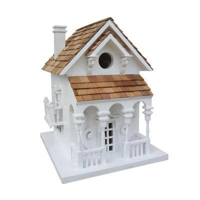 Home Bazaar 11 in. H Wood Birdhouse