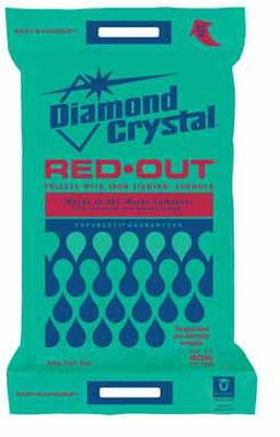 Diamond Crystal Iron Fighter Water Softener Salt Pellets 40 lb.