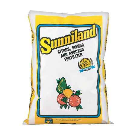 Sunniland Fertilizer For Citrus Mango and Avocado 20 lb.