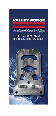 Valley Forge 4.5 in. L Stamped Steel Flag Pole Bracket