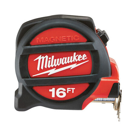 Milwaukee Magnetic Tape Measure 16 ft. L
