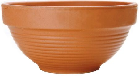 Bowl Clay Deep 12 in