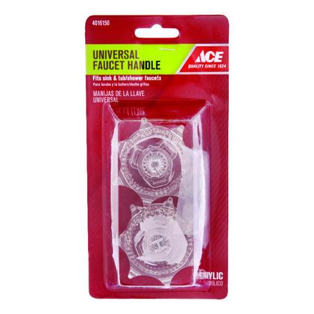 Ace Lucite Clear Universal Faucet Handle