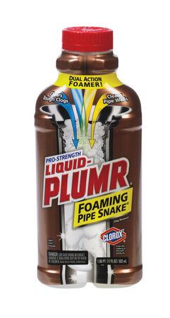 Liquid-Plumr Pro Strength Foaming Pipe Snake Clog Remover Liquid 17 oz.