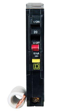 Square D QO Single Pole 20 amps Circuit Breaker