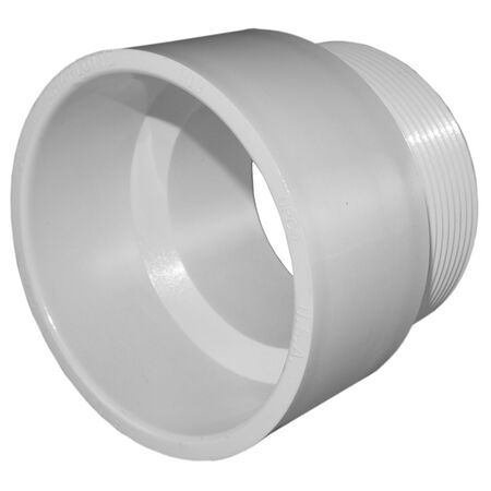 Charlotte Pipe 2 in. H x 2 in. Dia. MPT Pipe Adapter