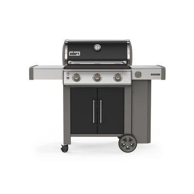 Weber Genesis II E-315 3 burners Propane Grill Black 39000 BTU
